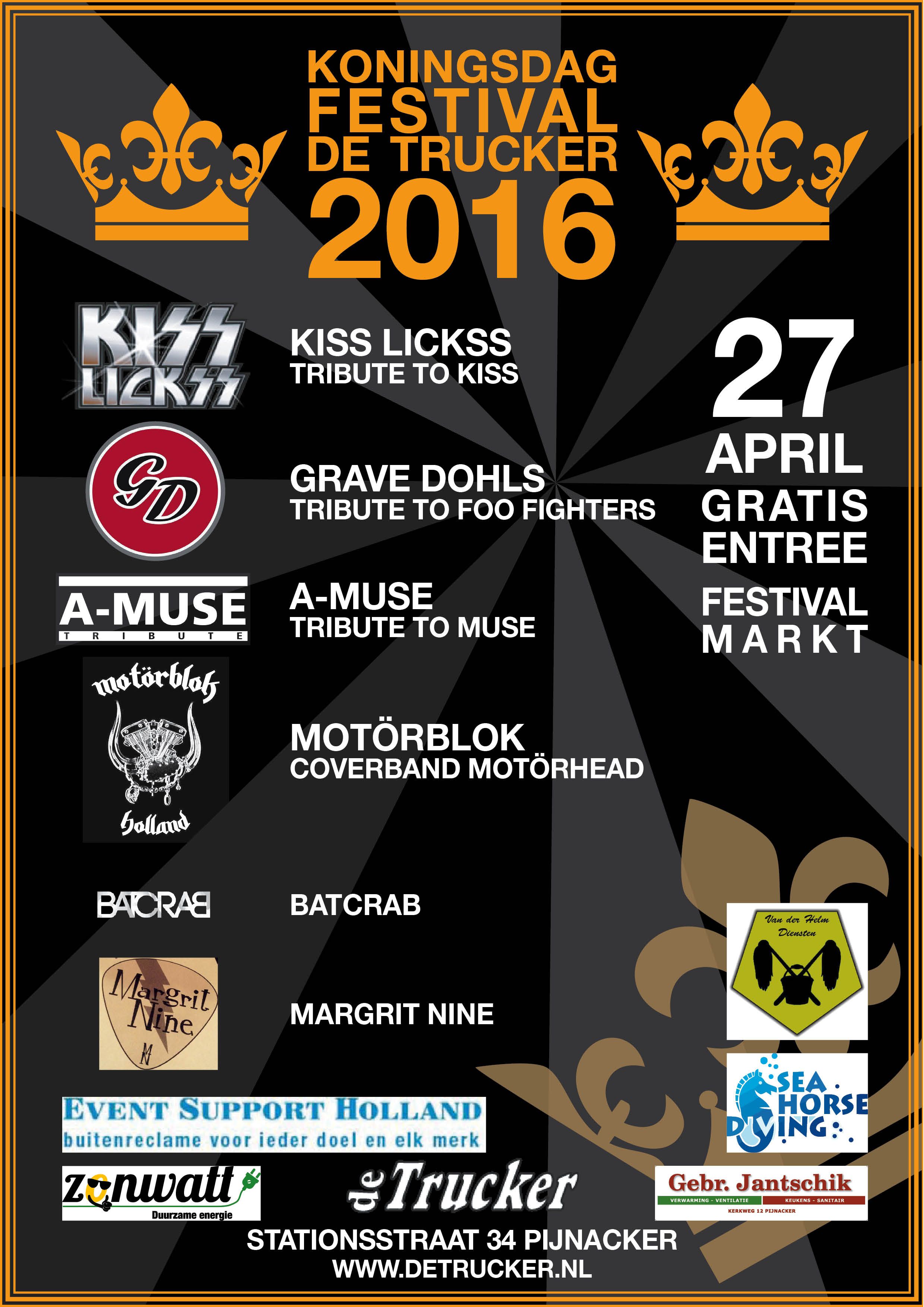 27 April Koningsdag 2016