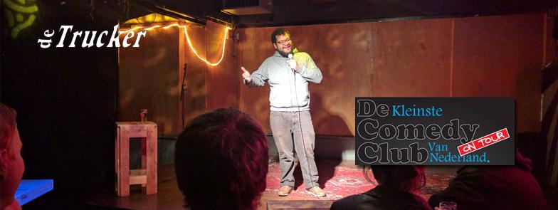 Kleinste Comedy Club van Nederland on tour 18 november